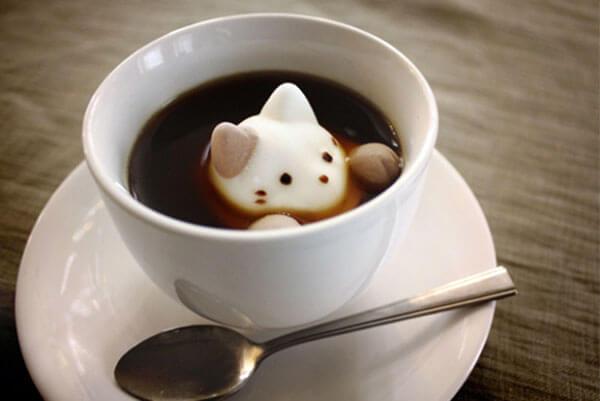 рисунки на кофе фото