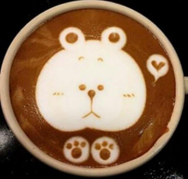 фото рисунки на кофе